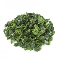 China Spring Organic Oolong Tea Tie Guan Yin With Flattened Green Tea Leaves on sale