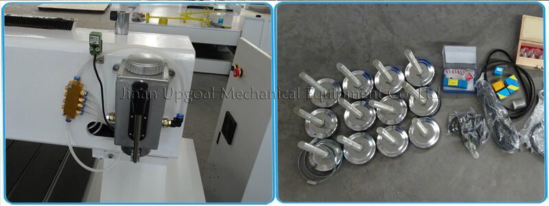 Semi-auto lubrication & foot pad