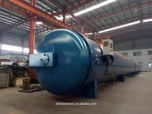 China Rubber vulcanizing autoclave computer automation control system / Large thermal oil circulating vulcanizing autoclave on sale