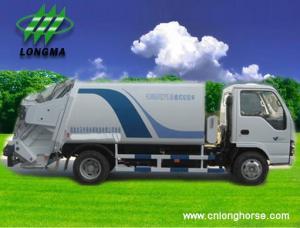 China garbage truck,  garbage trucks,  compression Garbage truck on sale