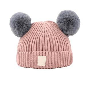China 2019 Fashionable Winter Wooly Beanie Hat, Cute Beanies For Girls Breathable on sale