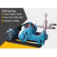 High Pressure Triplex Drilling Mud Pump with Diesel / Hydraulic / Electric Powered