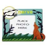 China handmade silicone/ soft pvc / plastic photo frames with nature view wholesale