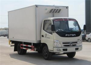 China FOTON 6 Wheels small Refrigerated Box Truck , 3 Tons Refrigerator Freezer Truck on sale