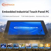 China 500G HDD Waterproof 15 Inch J1800 WiFi VESA 100 Fanless Touch Panel PC on sale