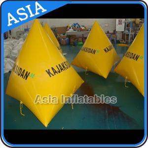 China Inflatable Water Barrier Walls, Swim Buoys For Ocean Or Lake Advertising on sale