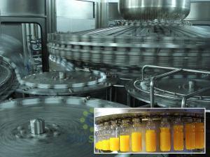 China Full Automatic Hot Filling juice production machine 500ml Bottle on sale