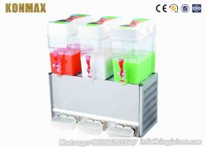 China Triple Tank Commercial Automatic Beverage Dispenser Fruit Juice Dispensers 18 Liter on sale