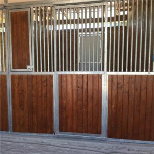 China 6 Rails Portable Horse Stall Fronts Heavy Duty Panel 2.1 M X 1.8 M Size on sale