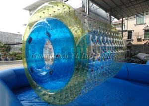 China 0.8mm PVC Inflatable Water Roller Children Size Beach Inflatable Toys on sale