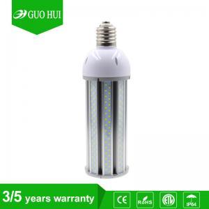 China 3-5 years warranty ETL DLC listed led corn lamp 277v 110v corn bulbs dimmable E27 on sale