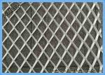Flattened Expanded Metal Mesh AISI304 And AISI316 Stainless Steel Stretched Sheet Decorative Mesh