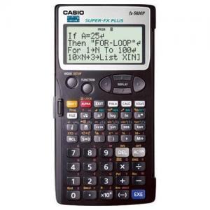 fx 5800p casio function calculator for sale calculator