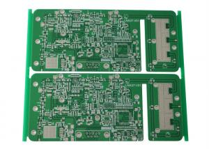 China Double sided  high frequency Rogers 4350B pcb with 0.508 mm thinckness board for wireless transceiver on sale