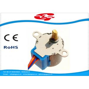 China Permanent Magnet High Torque Stepper Motor With Gearbox , 5 Lead Wires on sale
