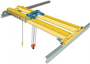 China Electric Double Girder Overhead Crane on sale