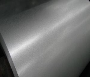 China ASTM A792M-02 Cold Rolled Galvalume Steel Coil Chromed With Passivation on sale