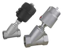 China Angle seat valve bevel valve on sale