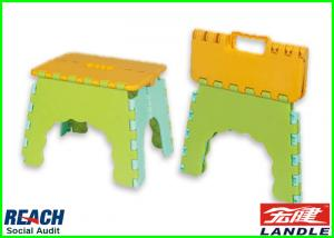 China Outside Fishing E - Z Foldz Folding Step Stool Picnic Fold Step Stool on sale