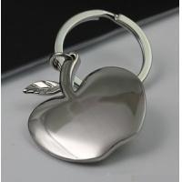 China Metal apple key chain on sale