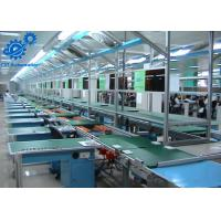Microwave Oven Furniture Assembly Line With Automatic Chain Conveyor Transport