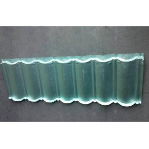 China Anti-finger Steel Green Back Stone Coated Metal Shingles Lightweight Roof Tiles on sale