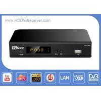 30W High Definition Digital Receiver Support 3G WIFI LAN / DVB Satellite Receiver