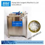 Sida Kbm-80 full auto dry ice pelleting maker machine 100kg/h with low power consumption 4 kw