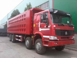 China used howo truck for sale in south korea 8*4 dump truck on sale