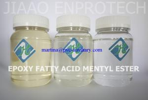 China Eco-friendly DOP, DBP, DINP substitution Epoxy Fatty Acid Methyl Ester (EFAME) J108 on sale
