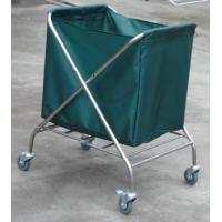 Stainless Steel Laundry Trolley For Collecting Dirty Clothing