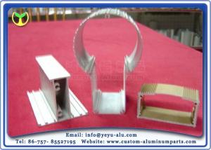 China LED Light Accessories Extrusion Aluminum Profiles For Decorative Lighting on sale
