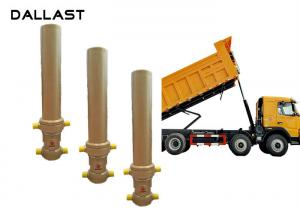 China Telescopic One Way Hydraulic Cylinder Dumper Tipper Trailer TS16949 Certification on sale