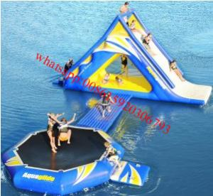 China Aqua inflatable water game , inflatable water park , inflatable water sports on sale