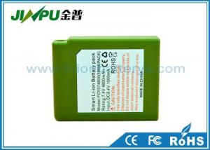 China Carbon Heated Clothes Battery / Rechargeable Lithium Ion Battery 7.4V 5800Mah on sale