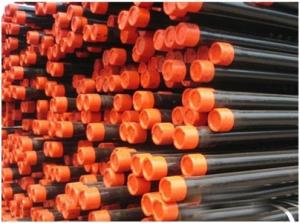 China Los tubos sin soldadura de acero de espec. 5CT del API engrasan la tubería para extraer el aceite/el gas on sale