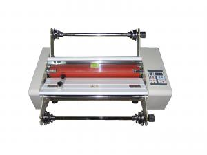 China 460MM hot and cold roll laminator 460MM roll laminating machine on sale