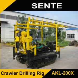 China Crawler type AKL-200Y hydraulic core drilling rig on sale