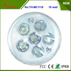 China Replacing halogen or HID, 18 Watt Round LED Work Light, LED Headlight for Motorcycle Model on sale
