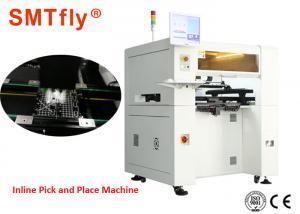 China 4 Mounting Heads SMT Pick And Place Machine / Pnp Machine 220V,50Hz SMTfly-PP4H on sale