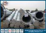 40ft Hot Dip Galvanized Steel Tubular Pole Conical Electrical Power Steel Utility Pole