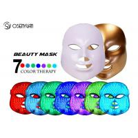 China Fight Acne LED Light Therapy Face Mask 7 Color Photon Led Skin Rejuvenation on sale