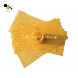 China Natural 4.9mm Cell 41.5*19.5cm Bee Foundation Sheets on sale