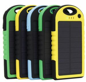 China 5000mAh Solar panel Charger for mobile phone Ipad, waterproof, shockproof,dustproof on sale