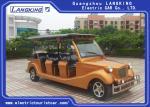 Elegant Mini 72 Volt Electric Car , Electric Sightseeing Car Battery Powered