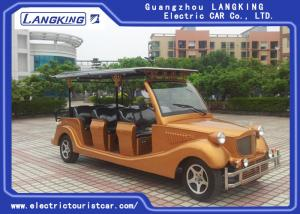 China New Style 11 Seats Electric Vintage Cars 72 V/7.5KW For Hotel HS Code 8703101900 on sale