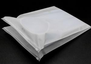China Clear Zipper Garment Plastic Packaging Bags Plastic Material For Clothes on sale