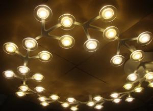 China Various round stars shaped Aluminum creative led light source Glasses pendant lights on sale