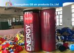 Pure PVC Advertising Inflatables , Airtight Inflatable Can Model For Sale