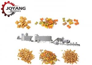 China Stainless Steel Customized Dry Dog Food Making Machine Production Line 140-160 Kg / H on sale